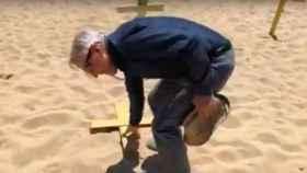 La tensión del procés llega hasta las playas catalanas
