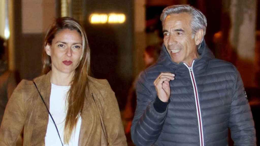 Imanol Arias e Irene Meritxell. Gtres.