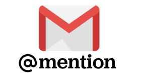 mencionar gente en gmail como en twitte destacada