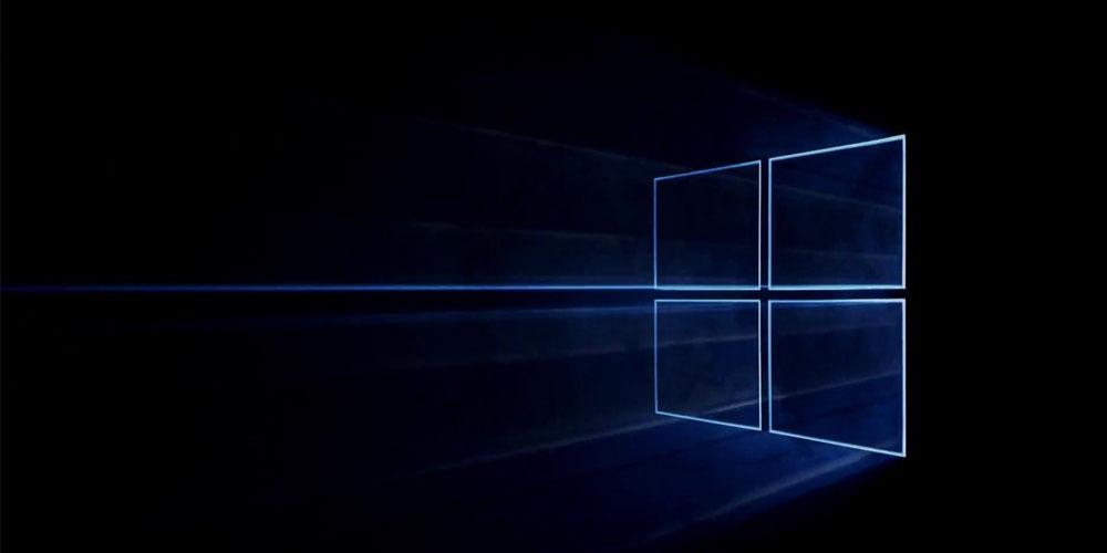 windows 10 fondo de pantalla negro