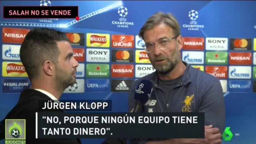 Klopp cierra a Salah la puerta del Real Madrid: No se vende