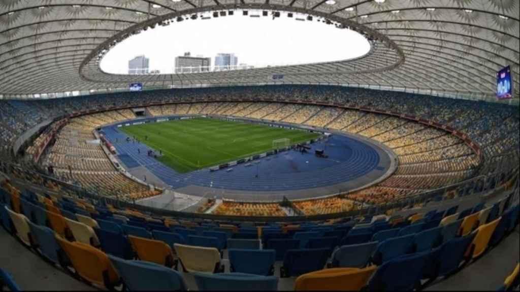 Estadio Olímpico de Kiev. Foto: uefa.com
