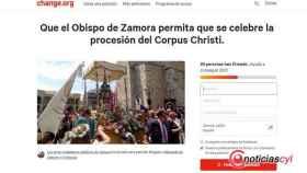 Zamora corpus peticion