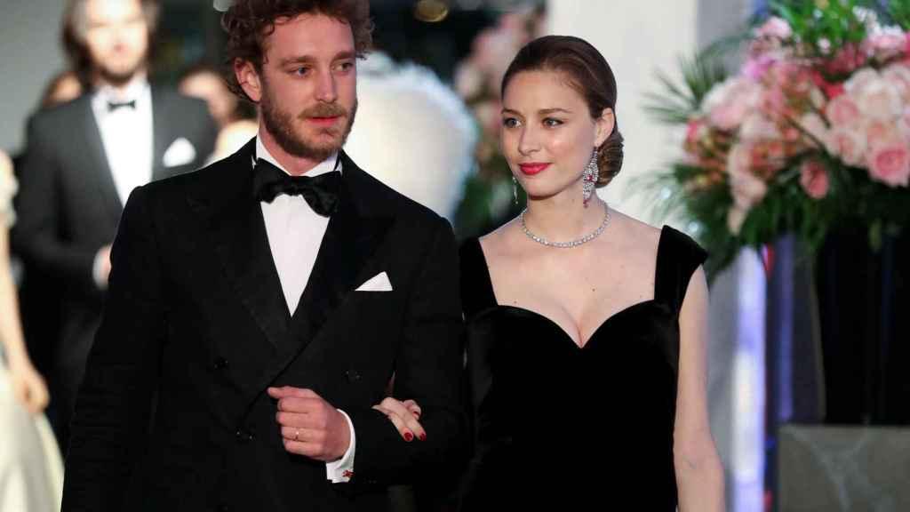 Pierre Casiraghi y Beatrice Borromeo en el Baile de la Rosa.