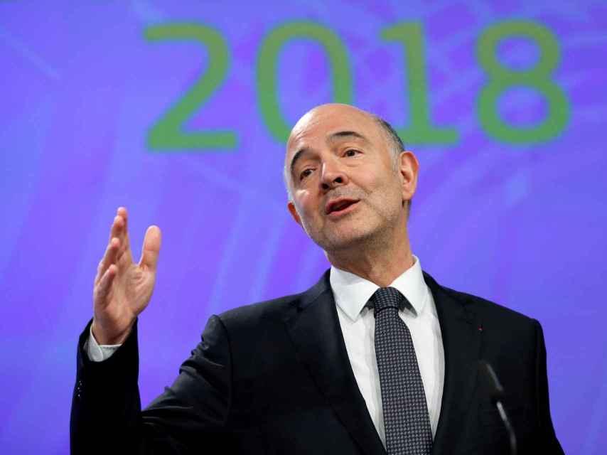 El comisario de Asuntos Económicos, Pierre Moscovici