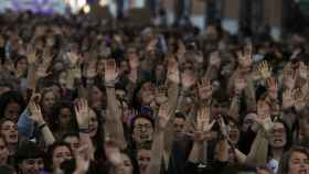 Manifestación contra la sentencia de La Manada en Madrid