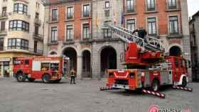 zamora ayuntamiento simulacro incendio bomberos (3)