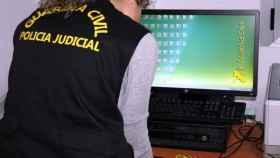 zamora guardia civil estafa internet