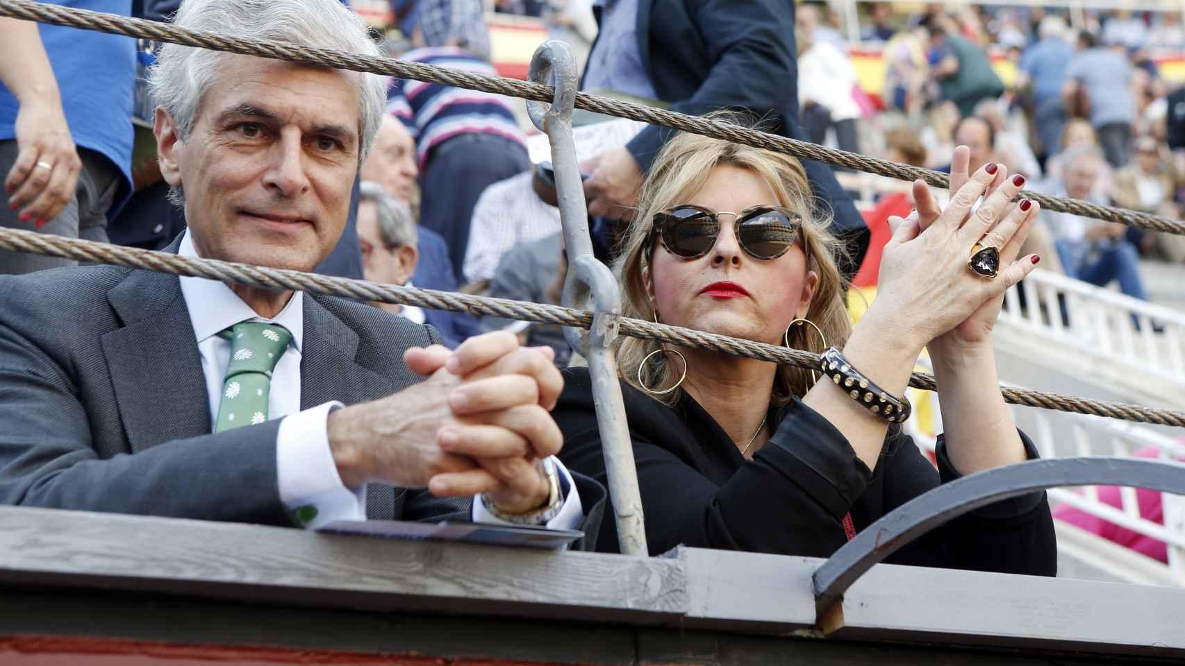 Las 'celebrities' se juntan en los toros de 'San Isidiro'