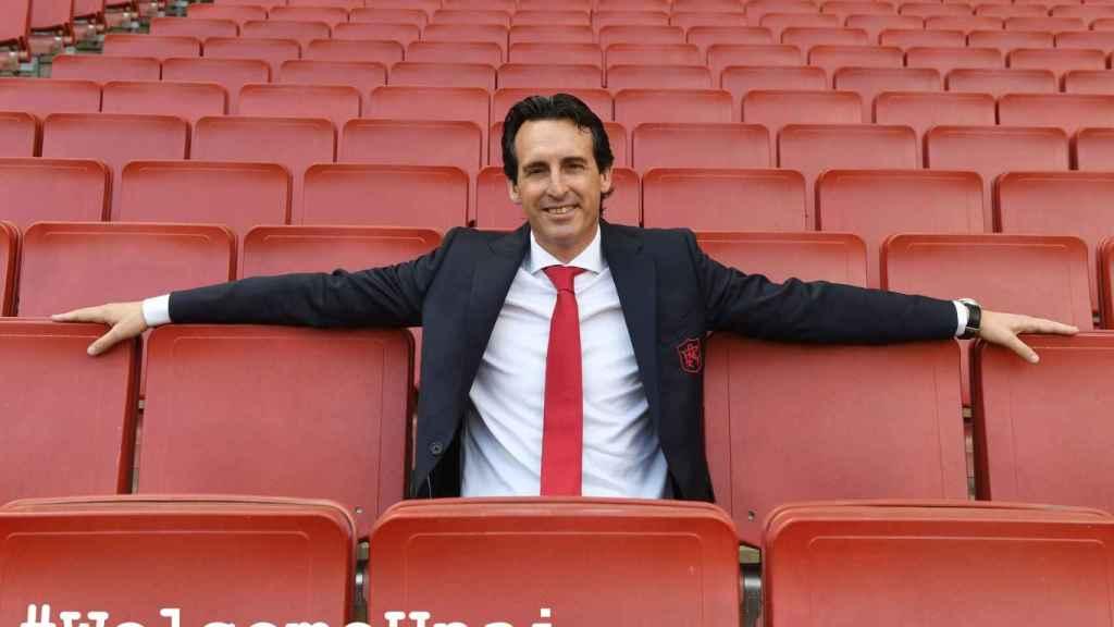 Unai Emery aterriza en el Arsenal tras su experiencia en el PSG.