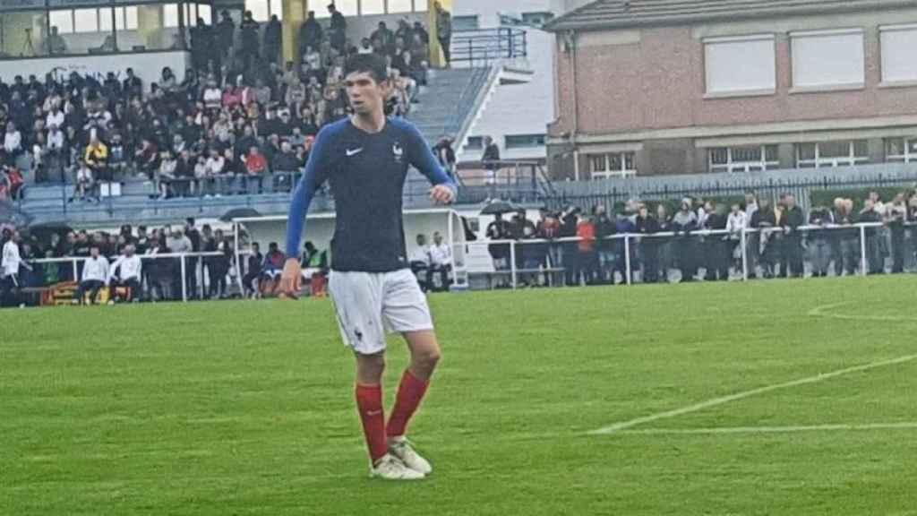 Theo Zidane, convocado con la sub16 de Francia