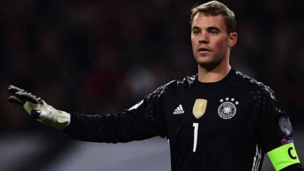 Manuel Neuer, portero de la selección alemana. Foto: dfb.de