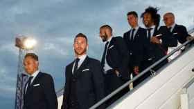 El Madrid llega a Kiev