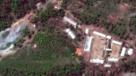 Vista satélite de otro complejo nuclear situado en Punggye-ri.