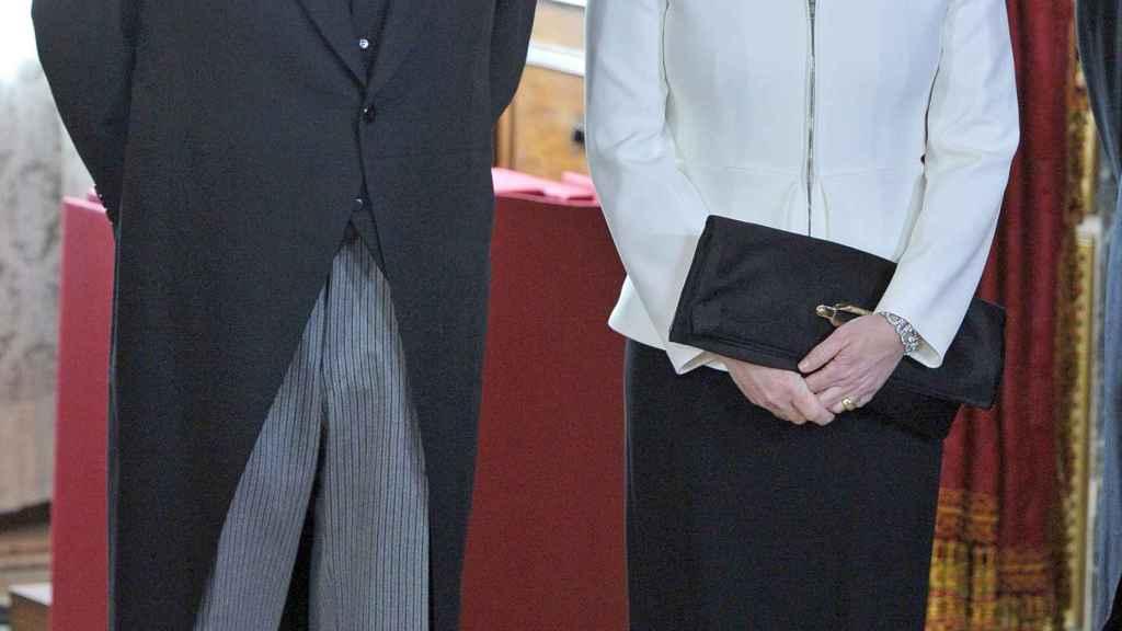Mariano Rajoy y Viri en un evento en 2014.