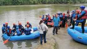 aulas flotantes rio pisuerga valladolid