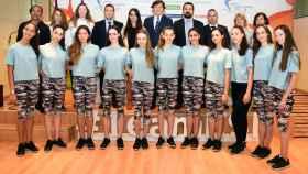 Presentación de los Campeonatos de Europa de Gimnasia rítmica