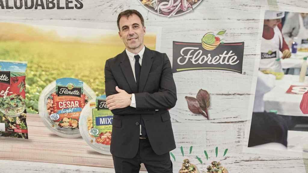 Fermín Aldaz, director comercial y de marketing de Florette Ibérica.
