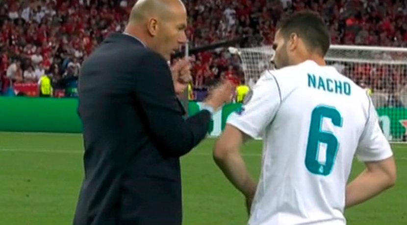 Nacho ocupa el puesto de Carvajal tras su lesión