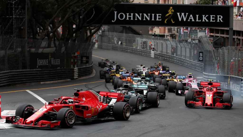 Gran Premio de Mónaco de Fórmula 1.