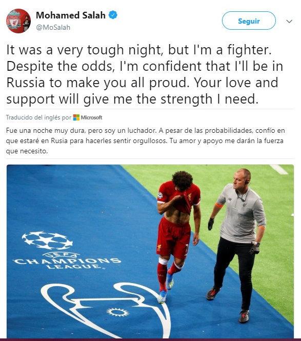 Salah llegará al Mundial de Rusia
