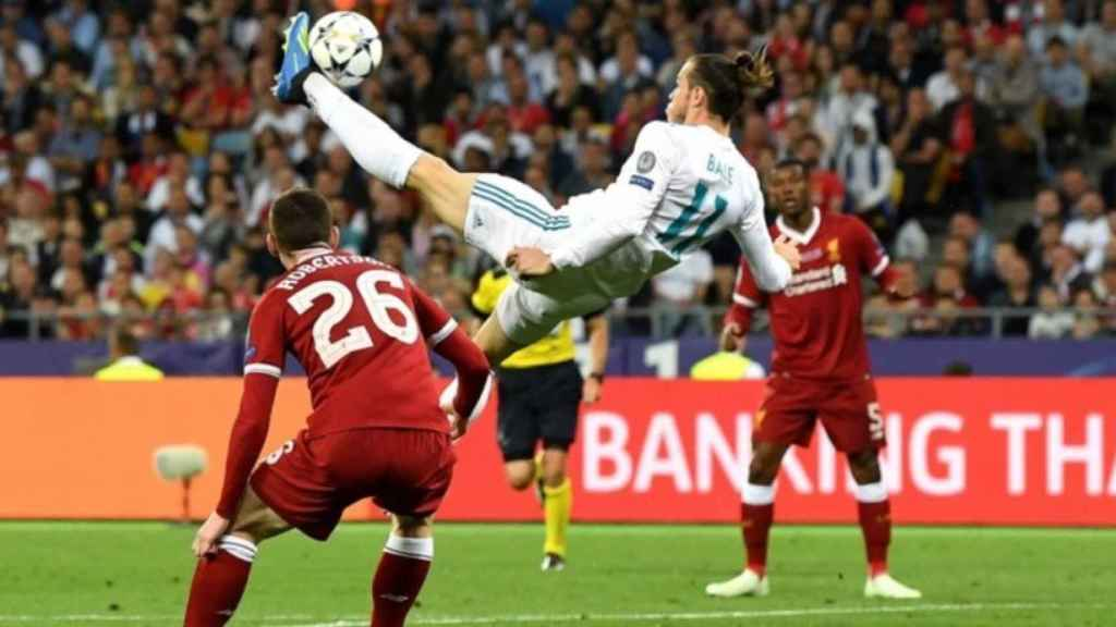 Gol de chilena de Bale al Liverpool
