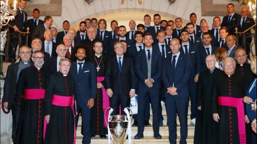 El Real Madrid, en la Almudena