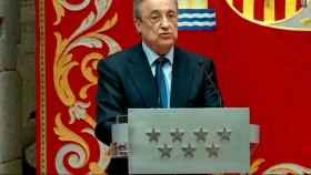 Florentino Pérez, en la Comunidad de Madrid