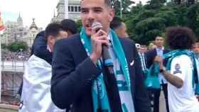Mensaje de Theo Hernández al Atlético de Madrid en Cibeles