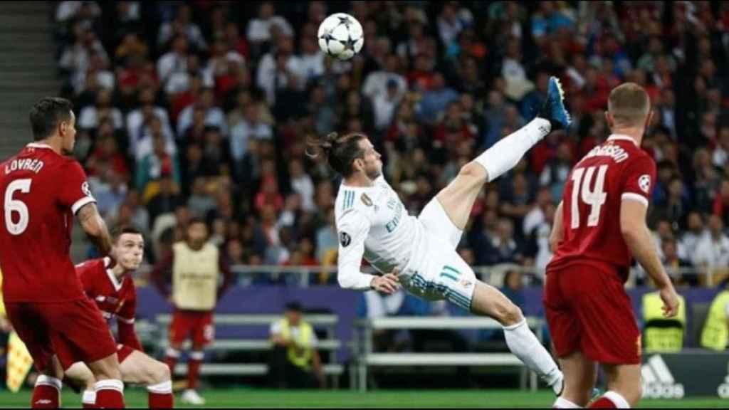 Gol de Bale de chilena
