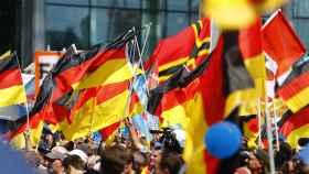 Más de 5.000 fieles de la AfD se citaron en Berlín, un feudo de la izquierda alemana.