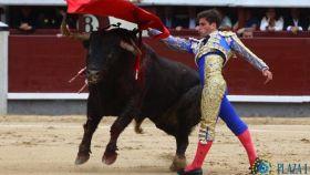Pase de pecho de Rubén Pinar al duro y orientado 'Botero'