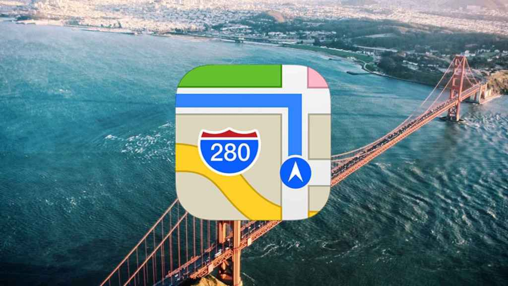 apple maps mapas