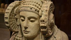 La Dama de Elche, la mujer más famosa del Museo Arqueológico Nacional.