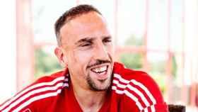 Ribery, jugador del Bayern Múnich. Foto: fcbayern.com