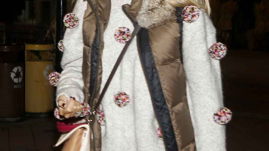 Alba Carrillo sonriente.