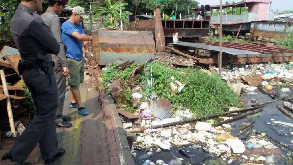 La policía tailandesa recuperó los trozos desmembrados de David Bernat en el río Chao Praya de Bangkok