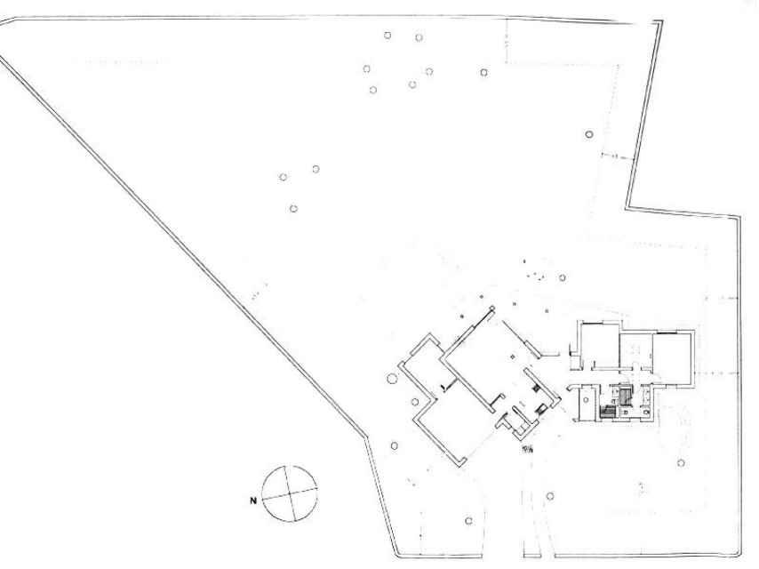 Plano de planta de la vivienda.