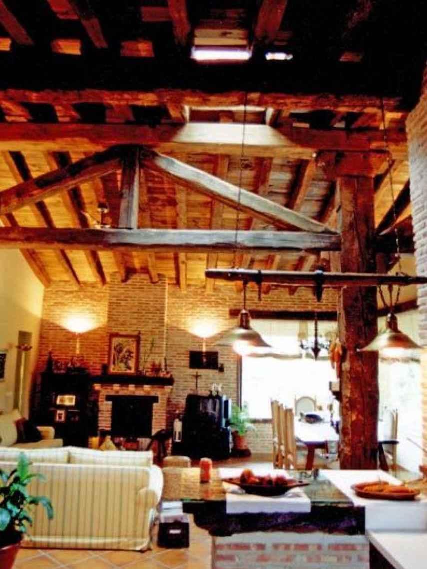 Imágenes del interior de la vivienda.