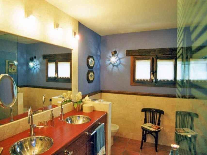 Fotografía del interior de la vivienda.