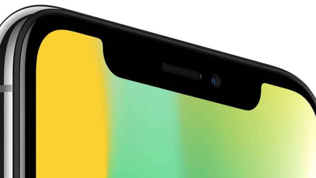 Desde el iPhone X, Face ID es usado para desbloquear el móvil