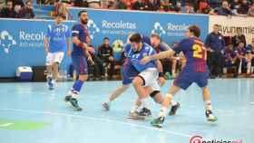 atletico valladolid - barcelona asobal balonmano 23