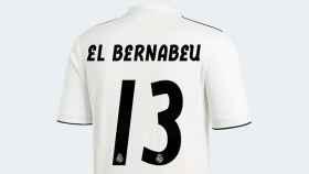 Versión El Bernabéu de la camiseta del Real Madrid