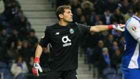 Casillas, en un partido con el Oporto. Foto: fcporto.pt