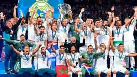El Real Madrid levanta la Champions League