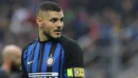 Icardi, en el Inter de Milán. Foto: inter.it