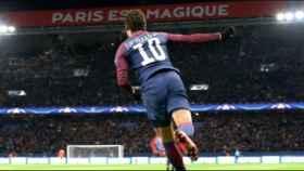 Neymar con el PSG. Foto: psg.fr