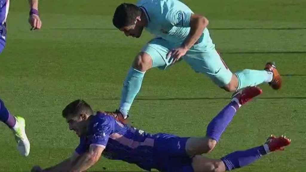 La enésima agresión impune de Suárez