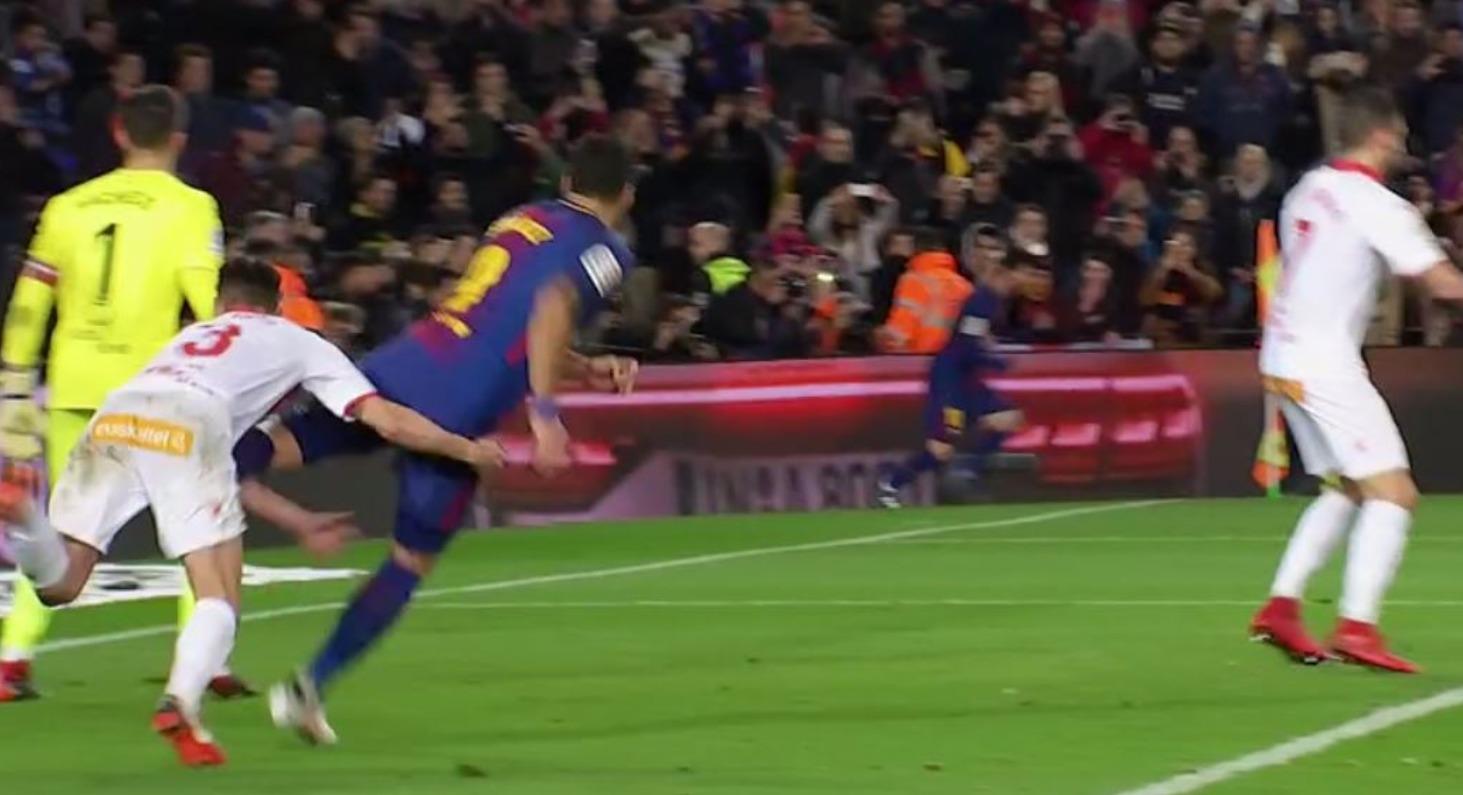 Suárez tiene más faltas y sanciones que Ramos