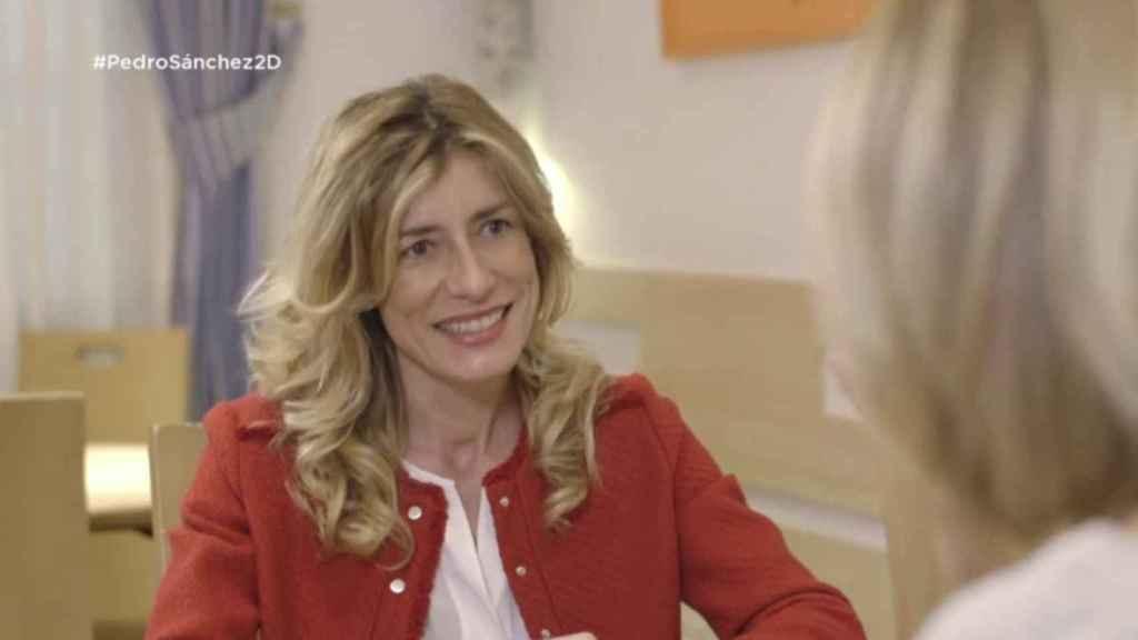 Begoña Gómez en su entrevista con Susanna Griso.